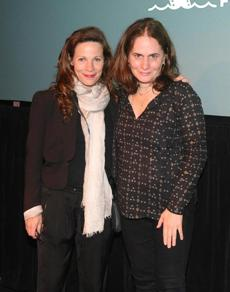 "Lili Taylor (left) and Elizabeth Giamatti attended the screening of ""A Woman Like Me."""